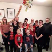 Kerstconcert jeugd en muzikanten bij kerstwandeling 2017