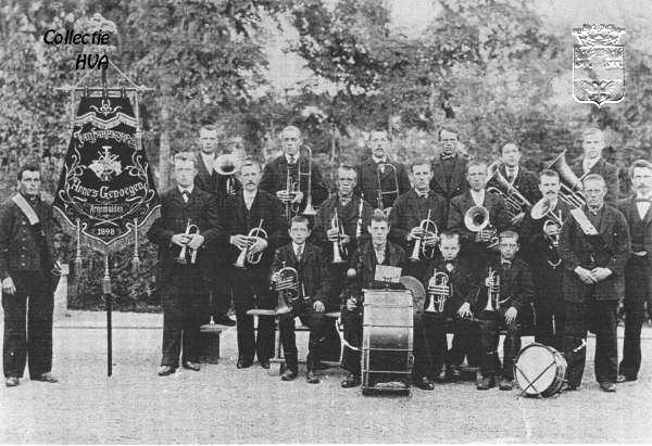 Arnes genoegen in 1901